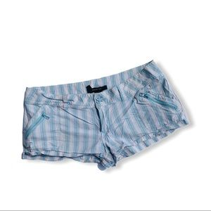 Ladies Striped Short Shorts by Paper Tee 7